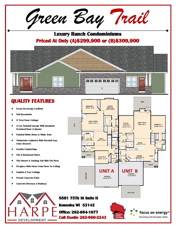 Luxury Condominiums - Pleasant Prairie - Rochester - Kenosha -Burlington