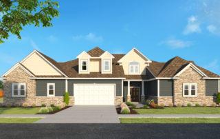 new homes for sale in racine county, harpe development